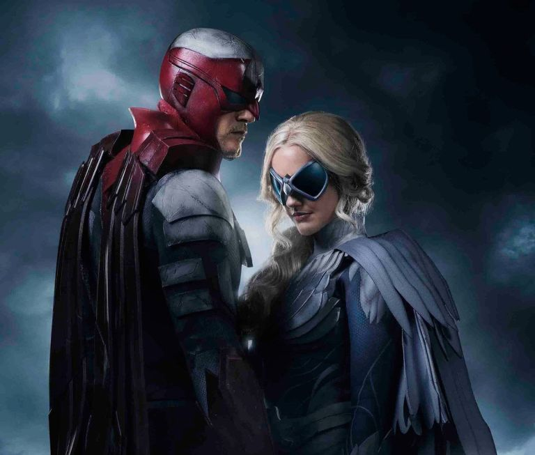 TITANS RELEASES FIRST IMAGE OF HAWK & DOVE