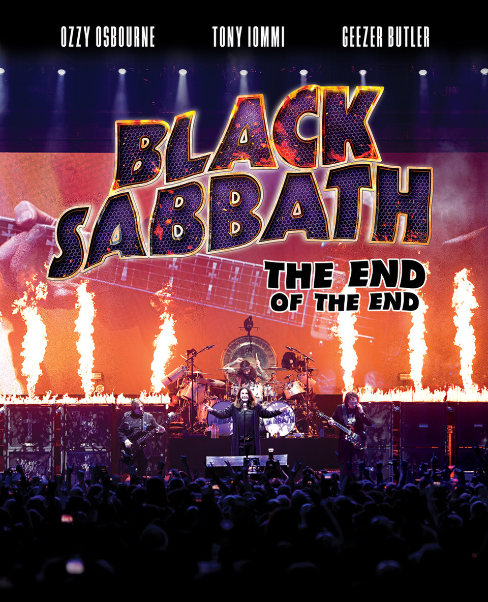 SHOWTIME® TO AIR WORLD TELEVISION PREMIERE OF BLACK SABBATH: THE END OF THE END CAPTURING LEGENDARY BAND'S FINAL CONCERT